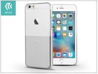 Apple iPhone 6 6S hátlap Swarovski kristály díszitéssel   Devia Crystal Unique   silver eladó