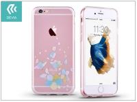 Apple iPhone 6 Plus 6S Plus hátlap kristály díszitéssel   Devia Crystal Soft Belis   clear blue eladó