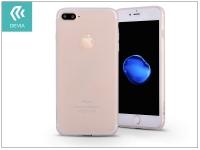 Apple iPhone 7 Plus szilikon hátlap   Devia Egg Shell   crystal clear eladó