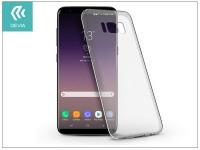 Samsung G955F Galaxy S8 Plus szilikon hátlap   Devia Naked   crystal clear eladó