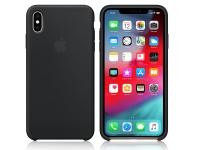 Apple iPhone XS Max eredeti gyári szilikon hátlap   MRWE2ZM A   black eladó
