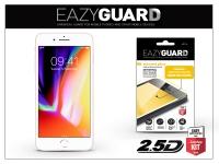 Apple iPhone 8 Plus gyémántüveg képernyővédő fólia   Diamond Glass 2 5D Fullcover   fehér eladó