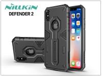 Apple iPhone X ütésálló védőtok   Nillkin Defender 2   fekete eladó