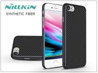 Apple iPhone 8 hátlap   Nillkin Synthetic Fiber   fekete eladó