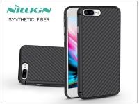 Apple iPhone 8 Plus hátlap   Nillkin Synthetic Fiber   fekete eladó