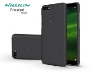 Huawei Y7 (2018) Huawei Y7 Prime (2018) Honor 7C hátlap képernyővédő fóliával   Nillkin Frosted Shield   fekete eladó
