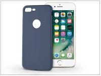 Apple iPhone 7 Plus szilikon hátlap   Soft   kék eladó