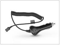 USB Type C szivargyújtós gyorstöltő spirál kábellel   5V 2A   fekete eladó