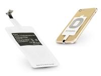 Lightning Qi adapter vezeték nélküli töltő állomáshoz   fehér eladó