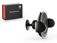 Univerzális Qi vezeték nélküli autós tartó gyorstöltő   5V 2A    Qi szabványos eladó