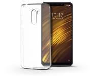 Xiaomi Pocophone F1 szilikon hátlap   Ultra Slim 0 3 mm   transparent eladó