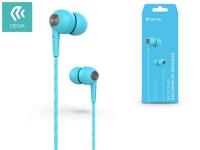 Devia univerzális sztereó felvevős fülhallgató   3 5 mm jack   Devia Kintone In Ear Wired Earphones   blue eladó