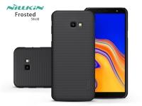 Samsung J415F Galaxy J4 Plus hátlap   Nillkin Frosted Shield   fekete eladó
