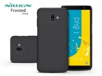 Samsung J610F Galaxy J6 Plus hátlap   Nillkin Frosted Shield   fekete eladó