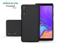 Samsung A750F Galaxy A7 (2018) hátlap   Nillkin Frosted Shield   fekete eladó