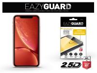 Apple iPhone XR gyémántüveg képernyővédő fólia   Diamond Glass 2 5D Fullcover   fekete eladó
