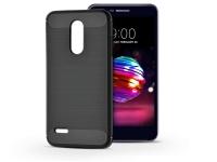 LG K10 (2018) szilikon hátlap   Carbon   fekete eladó