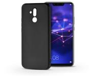 Huawei Mate 20 Lite szilikon hátlap   Soft   fekete eladó