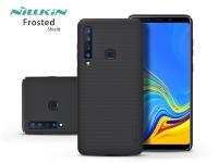 Samsung A920F Galaxy A9 (2018) hátlap   Nillkin Frosted Shield   fekete eladó