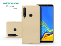 Samsung A920F Galaxy A9 (2018) hátlap   Nillkin Frosted Shield   gold eladó