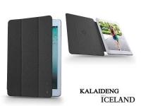 Apple iPad Air flipes tok   Kalaideng Iceland Series   black eladó