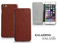 Apple iPhone 6 Plus flipes tok   Kalaideng Enland Series   brown eladó