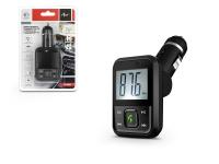 FM 08BT FM transmitter   Bluetooth  +  USB  +  memóriakártya olvasó   fekete eladó