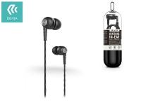 Devia univerzális sztereó felvevős fülhallgató   3 5 mm jack   Devia Kintone V2 In Ear Wired Earphones   black eladó