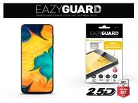 Samsung A305F Galaxy A30 A20 A50 M30 gyémántüveg képernyővédő fólia   Diamond Glass 2 5D Fullcover   fekete eladó