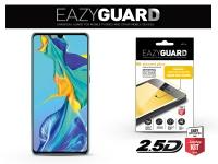 Huawei P30 gyémántüveg képernyővédő fólia   Diamond Glass 2 5D Fullcover   fekete eladó