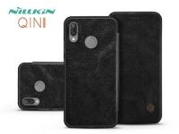 Huawei P20 Lite oldalra nyíló flipes tok   Nillkin Qin   fekete eladó
