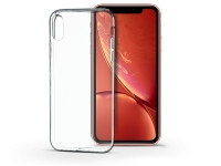 Apple iPhone XR szilikon hátlap   Soft Clear   transparent eladó