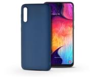 Samsung A505F Galaxy A50 szilikon hátlap   Soft   kék eladó