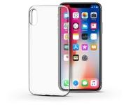 Apple iPhone X XS szilikon hátlap   Soft Clear   transparent eladó
