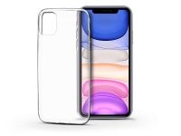 Apple iPhone 11 szilikon hátlap   Soft Clear   transparent eladó