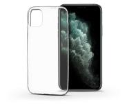 Apple iPhone 11 Pro Max szilikon hátlap   Soft Clear   transparent eladó