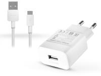 Huawei gyári USB hálózati töltő adapter  +  micro USB adatkábel   5V 2A és 9V 2A   Quick Charge HW 090200EHQ white (ECO csomagolás) eladó