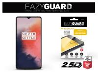OnePlus 7T gyémántüveg képernyővédő fólia   Diamond Glass 2 5D Fullcover   fekete eladó