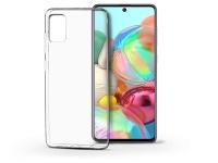 Samsung A715F Galaxy A71 szilikon hátlap   Soft Clear   transparent eladó