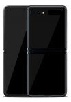 Samsung Galaxy Z Flip 256GB 8GB RAM Mirror Black F700 eladó