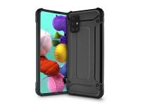 Samsung A515F Galaxy A51 ütésálló hátlap   Armor   fekete eladó