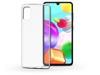 Samsung A415F Galaxy A41 szilikon hátlap   Soft Clear   transparent eladó