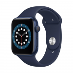 Apple Watch Series 6 Alu Sport GPS 44mm Deep Navy eladó