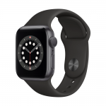 Apple Watch Series 6 Alu Sport GPS 44mm Black eladó