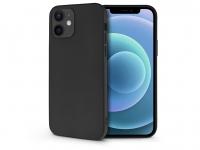 Apple iPhone 12 Mini szilikon hátlap   Soft   fekete eladó