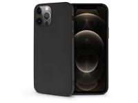 Apple iPhone 12 Pro Max szilikon hátlap   Soft   fekete eladó