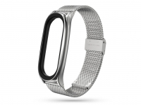 Xiaomi Mi Smart Band 5 Mi Smart Band 6 aktivitásmérőhöz fém szíj rozsdamentes acélból   ezüst eladó