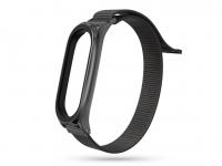 Xiaomi Mi Smart Band 5 Mi Smart Band 6 aktivitásmérőhöz nylon textil szíj   fekete eladó